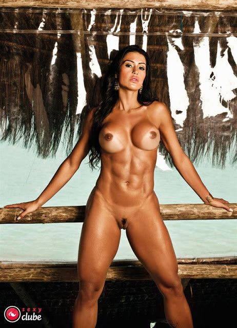 Gracyanne-Barbosa-Naked-in-Magazine-Sexy-35
