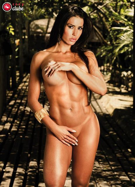 Gracyanne-Barbosa-Naked-in-Magazine-Sexy-7
