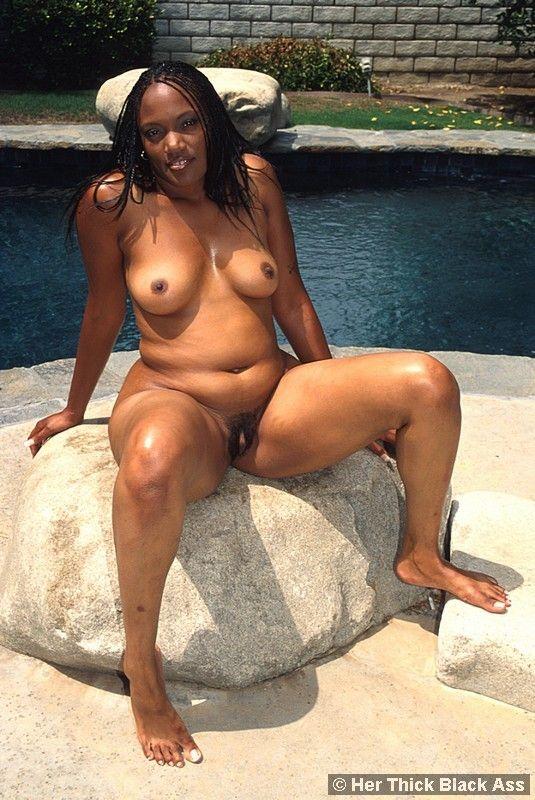 裸体黑人女性-27