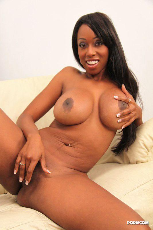 裸体黑人女性-4