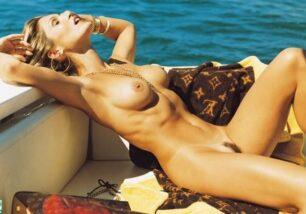Flávia Alessandra Nua Pelada Revista Playboy