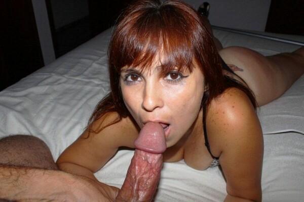 女朋友支付一个精彩的口交-12