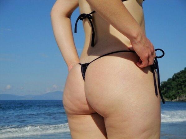 顽皮的尾巴绳在海滩上全棕褐色 8